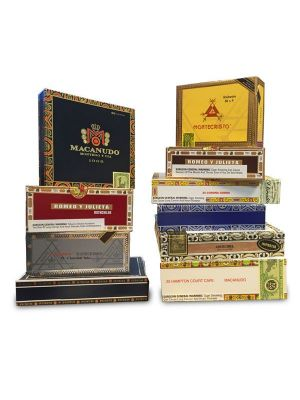 Empty Paper Cigar Boxes