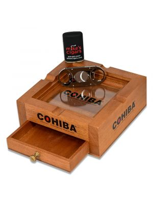 Cohiba 3 In 1 Ashtray Set