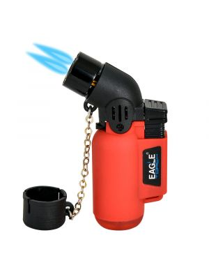 Eagle Angle Single Torch Lighter Red