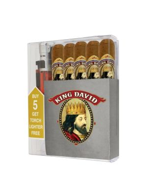 King David Gran Toro Cigar Collection With Lighter