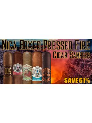 Nica Boxed Pressed Fire Cigar Sampler