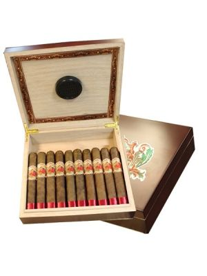 Flor De Las Antillas Toro Humidor With Cigars