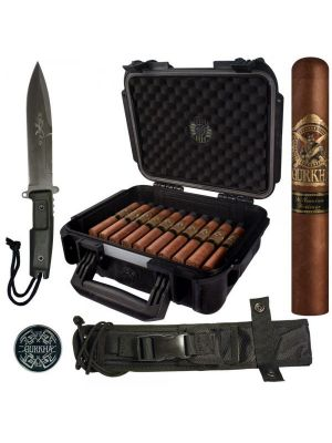 Gurkha Spec Ops Heritage XO Knife and Case Combo