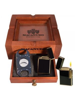 Macanudo 3 In 1 Ashtray Set