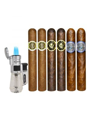Macanudo Holiday Gift With Torch Lighter